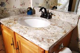 types of bathrooms elegant bathroom with vanity featured undemount round sink and