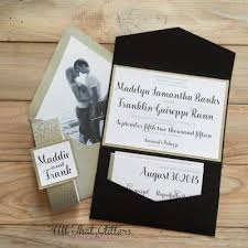 Black Wedding Invitations Gold And Black Wedding Invitations Archives All That Glitters