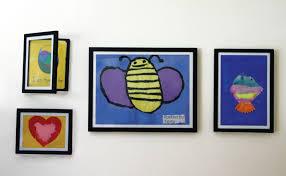 how to artfully display kids u0027 art evolved mommyevolved mommy
