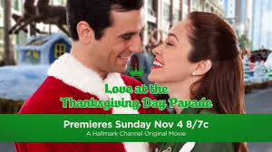 hallmark channel at the thanksgiving day parade premiere