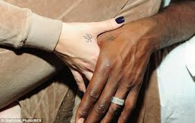 vow now u0027 tattoo trend sees couples declare their love with