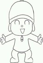 free printable pocoyo coloring pages kids alejandra recipes