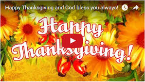 happy thanksgiving free greeting card