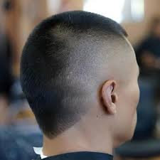 back of head asymettrical hair line cuts 20 variations of buzz cuts with different lengths and details