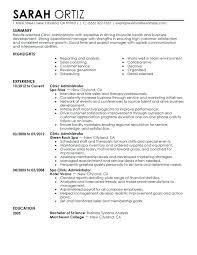 sample resume for hotel jobs business administration resume