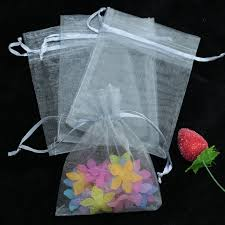 tulle bags 100pcs lot 5x7cm gray organza bags tulle mini jewelry package bag