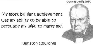 Famous Quotes About Marriage Quotes About Ability And Achievement 33 Quotes