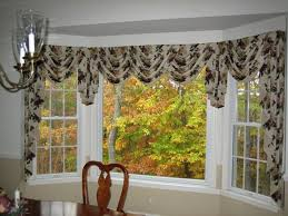 nice kitchen bay window curtains elegant kitchen design