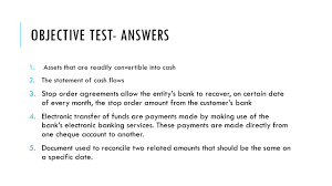 objectives of cash flow statement chapter 11 computerised accounting systems objective test 1 what 3 objective