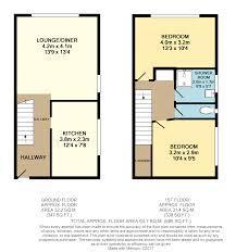Maisonette Floor Plan 2 Bedroom Maisonette For Sale In Hamble Road Tonbridge Tn10 3jl