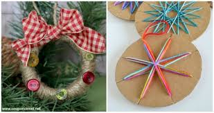 handmade ornaments handmade ornaments kids can make somewhat simple