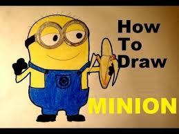 draw easy minion banana despicable 2 minions