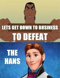 Frozen Memes - bad pun li shang frozen know your meme