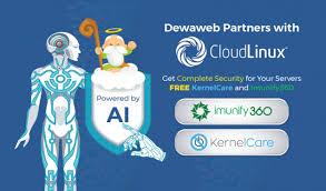 membuat vps di komputer sendiri dewaweb berpartner dengan cloudlinux kernelcare dan imunify360