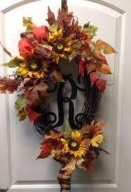 thanksgiving wreaths diy 64 best sunflower wreaths etc images on pinterest sunflower