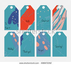 set 24 cute christmas gift tags stock vector 759280720 shutterstock