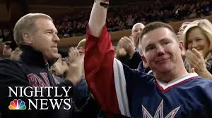 new york rangers fans new york rangers fans break out in applause for veteran nbc