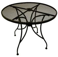 Wrought Iron Patio Dining Set Outdoor Tables From Richardson Seating Corp