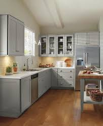 Gray Kitchen Cabinets Schrock Grey Kitchen Cabinets Traditional Kitchen Other By