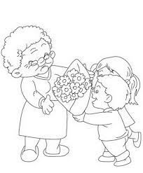 honor your father and mother coloring page grandparents day coloring pages u0026 activities for kids family