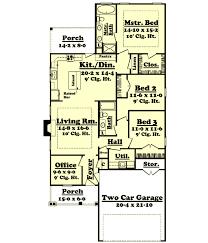 Bungalow Style House Plans Plan 50 127 16 X 50 Floor Plans