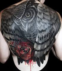 tattoo pictures of owls 70 owl tattoos for men creature of the night designs