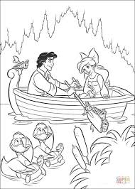prince eric ariel coloring free printable coloring