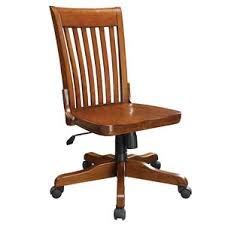 Bankers Chair Cushion Wood Office Chairs You U0027ll Love Wayfair