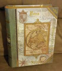 decorative book box with magnetic closure from michael u0027s sand and