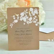 Rolling Wedding Invitation Cards Gartner Studios Foil Birds On Kraft Invitation