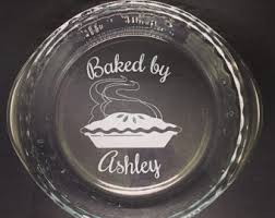 personalized pie plate pie dish etsy