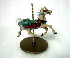 carousel hallmark ornament 1989