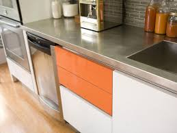Kitchen Countertops Ideas by Stainless Steel Countertops Hgtv