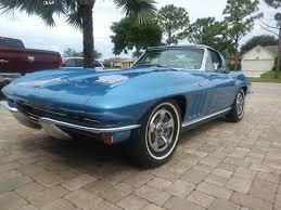 1966 corvette roadster 1966 chevrolet corvette for sale carsforsale com