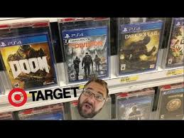 target black friday ps4 games grim goes shopping for ps4 games at target youtube