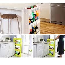 narrow storage cabinet for kitchen 2021 magic union narrow storage shelf removable floor