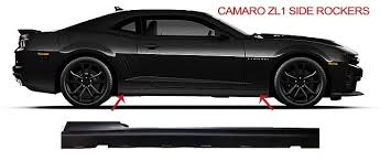 2011 camaro rs accessories zl1 side rockers from gm for 2010 2015 camaro all models ss ls