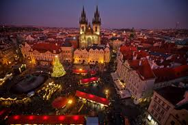 Christmas Town Decorations Prague Czech Republic Photos Christmas Decorations Around The