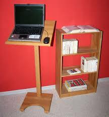 Schreibtisch Buche Massiv H Enverstellbar Stehpult 50x133x50cm Höhenverstellbar Buche Massiv Geölt