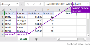 ms excel how to use the vlookup function ws