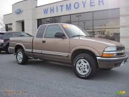 2003 chevrolet s10 ls extended cab 4x4 in sandalwood metallic