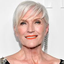 50 a69 year old short hair cuts introducing covergirl s newest ambassador 69 year old maye musk