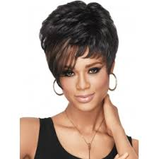 wigs short hairstyles round face african american short natural hairstyles for round faces