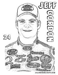 nascar coloring pages coloring pages cars nascar free