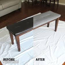 Paint On Leather Sofa How To Paint Leather Furniture Family Handyman