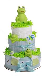 diper cake frog cake storkandveil