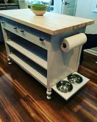 Kitchen Island Decor Ideas Make Your Own Kitchen Island On A Budget By Up Cycling Wood