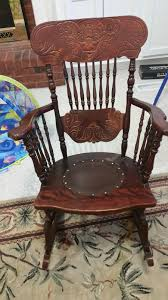 Old Man In Rocking Chair Rocking Chair My Antique Furniture Collection