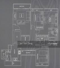 waterford residence floor plan waterford residence 21 kim yam road 3 bedrooms 1195 sqft