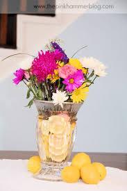 how to make floral arrangements the pink hammer blog